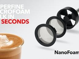 NanoFoamer - Microfoam milk in 20 seconds.