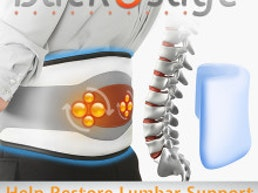 BackOSage 8 in 1 Decompression Massage Belt