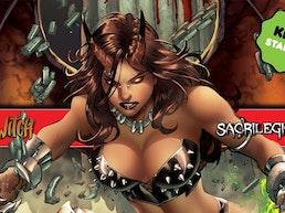Brian Pulido's Newest: Hellwitch: Sacrilegious #1!