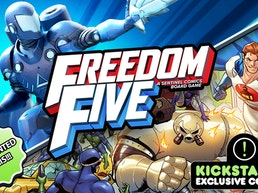Freedom Five: A Sentinel Comics Board Game