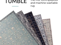 Tumble: The First Spillproof & Washable Rug