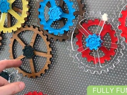 Sprocks   Magnetic Gears for the kid in all of us.