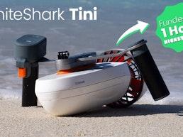 WhiteShark Tini - A Powerful Modular Underwater Sea Scooter