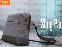 Sling Pack- A Minimalist Cross Between a Messenger & Sling