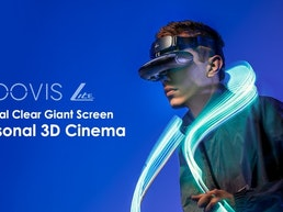 GOOVIS LITE: Crystal Clear Giant Screen Personal 3D Cinema