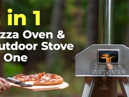 QubeStove | 2-in-1 Rotating Pizza Oven and Stove in One
