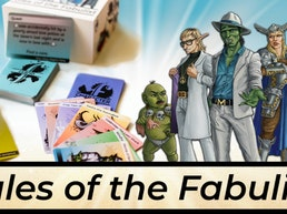 Tales of the Fabulist - a party game for creatives