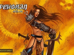 Cavewoman: Metal Age #2 comic from Amryl Dark Entertainment