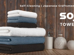 Soji: Self-Cleaning and Silver-Infused Bamboo Towel