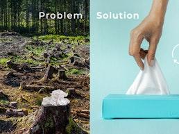 LastTissue Box - The Reusable Tissue Box