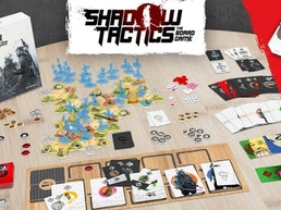 Shadow Tactics: the Board Game + solo/co-op Ronin expansion