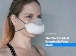 purME Air: The world's most breathable face mask