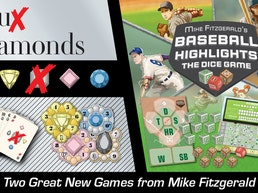 Faux Diamonds & Baseball Highlights: The Dice Game