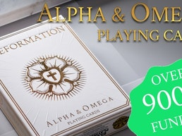 Alpha & Omega Playing Cards: 3 Decks of Church History Cards