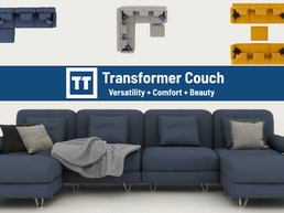 Transformer Couch - One Couch, Endless Possibilities