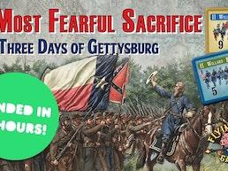 A Most Fearful Sacrifice -the three days of Gettysburg