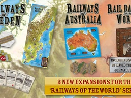 🚂 Railways of Sweden, Australia, & Rail Barons of the World
