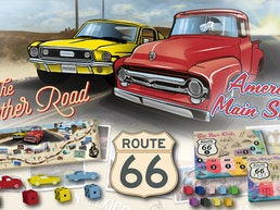 Route 66 The Mother Road, Sid Sackson; America's Main Street